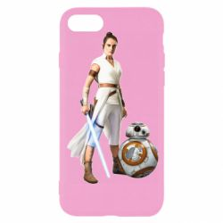 Чехол для iPhone SE 2020 Rey BB 8