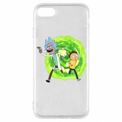 Чохол для iPhone SE 2020 Rick and Morty art
