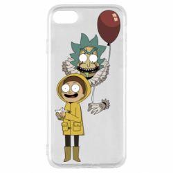 Чехол для iPhone SE 2020 Rick and Morty: It 2