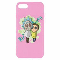 Чохол для iPhone SE 2020 Rick and Morty voodoo doll