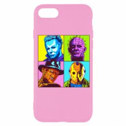 Чехол для iPhone SE 2020 Rippers from horror movies