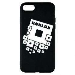 Чехол для iPhone SE 2020 Roblox logos