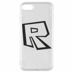 Чохол для iPhone SE 2020 Roblox minimal logo