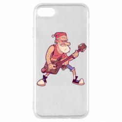 Чохол для iPhone SE 2020 Rock'n'roll Santa