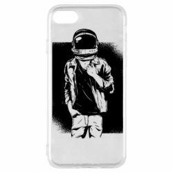 Чехол для iPhone SE 2020 Рок Космонавт