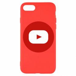 Чохол для iPhone SE 2020 Round logo