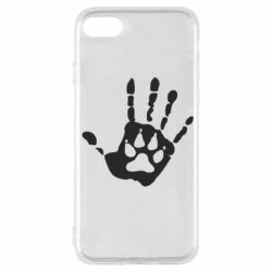 Чехол для iPhone SE 2020 Рука волка