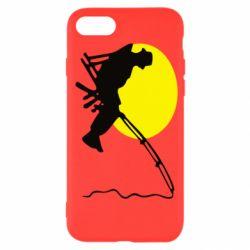 Чехол для iPhone SE 2020 Рыбак