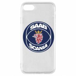 Чехол для iPhone SE 2020 SAAB Scania