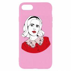Чехол для iPhone SE 2020 Sabrina art