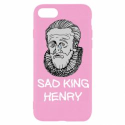 Чехол для iPhone SE 2020 Sad king henry