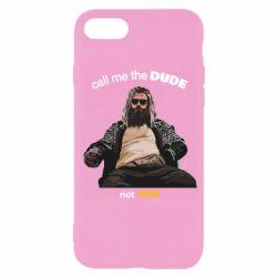 Чехол для iPhone SE 2020 Сall me the DUDE not THOR