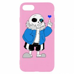 Чохол для iPhone SE 2020 Sans with heart