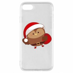 Чехол для iPhone SE 2020 Santa Owl