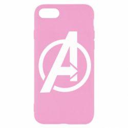 Чохол для iPhone SE 2020 Сaptain Аmerica logo