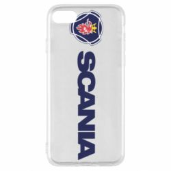 Чохол для iPhone SE 2020 Scania Logo