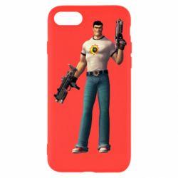 Чехол для iPhone SE 2020 Serious Sam with guns