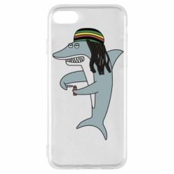 Чохол для iPhone SE 2020 Shark Rastaman