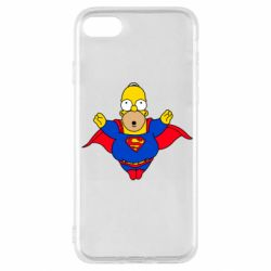 Чехол для iPhone SE 2020 Simpson superman