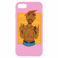 Чохол для iPhone SE 2020 Singer Tupac Shakur