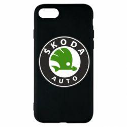 Чохол для iPhone SE 2020 Skoda Auto