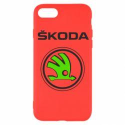 Чехол для iPhone SE 2020 Skoda Bird