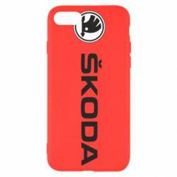 Чехол для iPhone SE 2020 Skoda logo