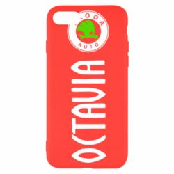 Чехол для iPhone SE 2020 Skoda Octavia