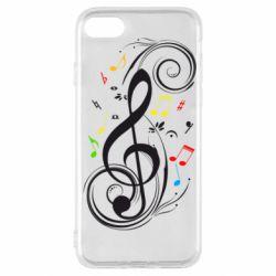 Чехол для iPhone SE 2020 Скрипичный ключ