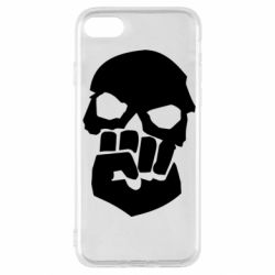 Чехол для iPhone SE 2020 Skull and Fist