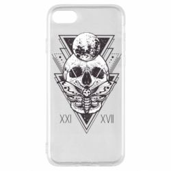 Чохол для iPhone SE 2020 Skull with insect