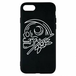 Чохол для iPhone SE 2020 Skull with scythe