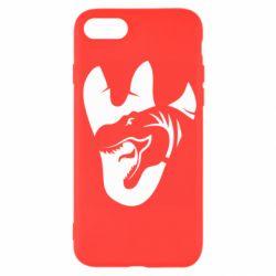 Чехол для iPhone SE 2020 След динозавра