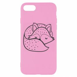 Чохол для iPhone SE 2020 Sleeping fox