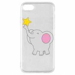 Чохол для iPhone SE 2020 Слон із зірочкою