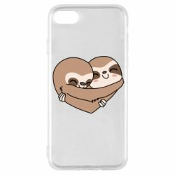 Чохол для iPhone SE 2020 Sloth lovers