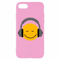 Чехол для iPhone SE 2020 Smile in the headphones