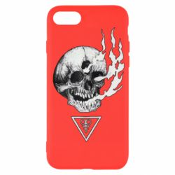 Чохол для iPhone SE 2020 Smoke from the skull