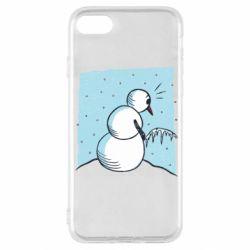 Чохол для iPhone SE 2020 Snowman. It's Cold!
