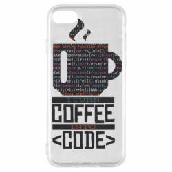 Чохол для iPhone SE 2020 Сoffee code