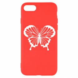 Чехол для iPhone SE 2020 Soft butterfly