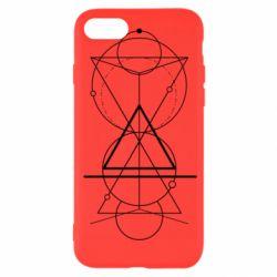 Чохол для iPhone SE 2020 Сomposition of geometric shapes