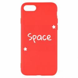 Чохол для iPhone SE 2020 Space: Letters and Stars Print