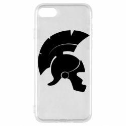 Чехол для iPhone SE 2020 Spartan helmet