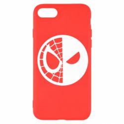 Чохол для iPhone SE 2020 Spider Man and Deadpool