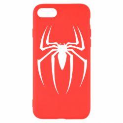 Чехол для iPhone SE 2020 Spider Man Logo