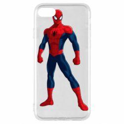 Чохол для iPhone SE 2020 Spiderman in costume