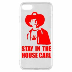 Чехол для iPhone SE 2020 Stay in the house Carl