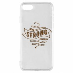 Чохол для iPhone SE 2020 Stay strong forever