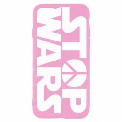 Чехол для iPhone SE 2020 Stop Wars peace